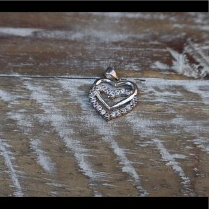 Jewelry - Heart shaped pendant (doesn't include necklace)